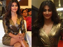 Pooja Hegde At DJ Movie Thank You Meet Photos