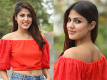 Rhea Chakraborty New Stills