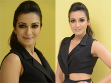 Catherine Tresa Gautham Nanda Movie Interview Photos