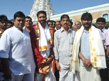 Gautham Nanda Team at Tirumala Photos
