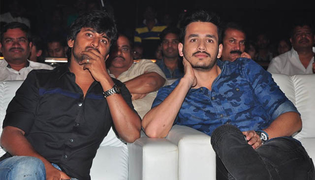 Akhil Second Movie Facing Problem with Nani MCA and Anushka Bhagmati