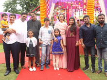 Mahesh Babu and Vamsi Paidipally Movie Opening Photos