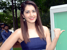 Raashi Khanna at HITAM College Event Photos