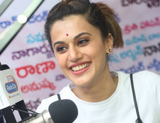 Taapsee Role in Anando Brahma Movie