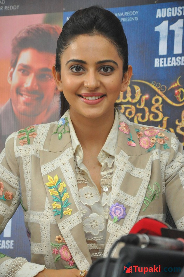 Rakul Preet singh At Jaya Janaki Nayaka Movie Success Meet Photos