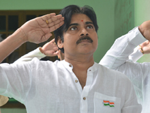 Flag Hoisting at Janasena Party Office Photos