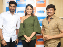 Jaya Janaki Nayaka Movie Team at Radio City Photos