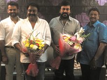 Sai Dharam Tej and VV Vinayak Movie Opening Photos