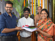Sai Dharam tej-Karunakaran Movie Opening Photos