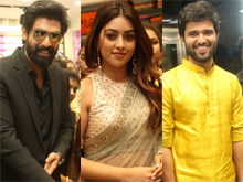 Celebs at KLM Show Room Opening Photos