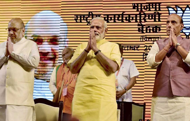 Country First, Party Second Says PM Narendra Modi At Huge BJP Meet