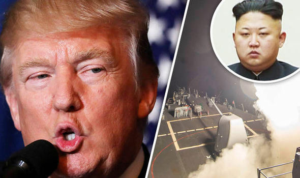Donald Trump Deadly Warning to North Korea