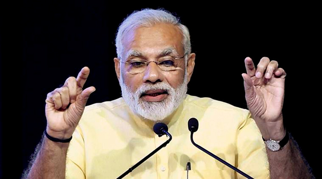 Narendra Modi launched the Saubhagya scheme to supply electricity to poor households