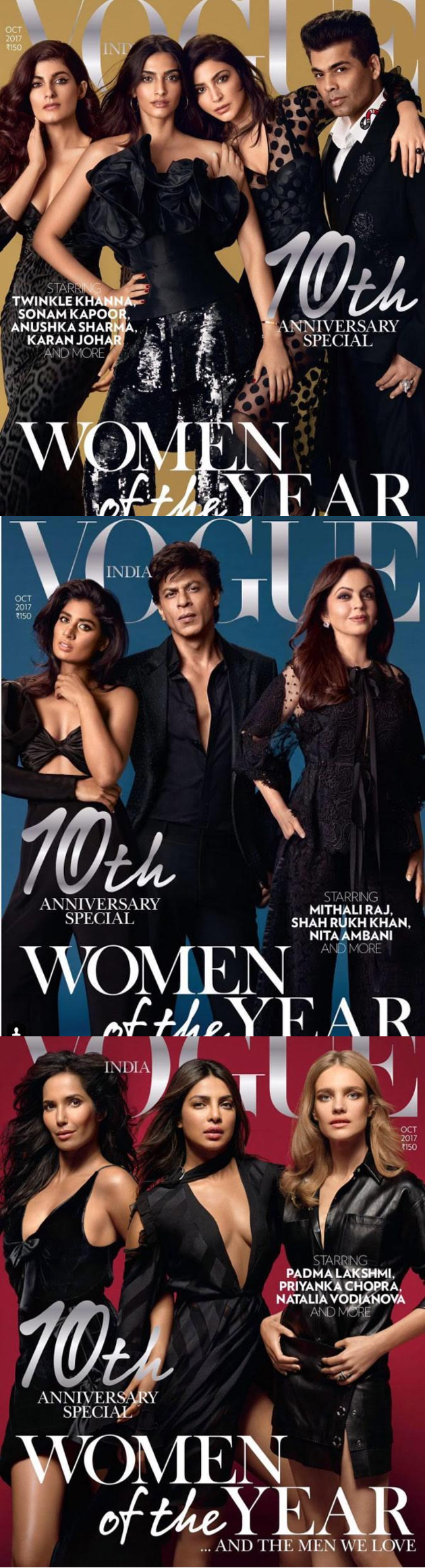 Vogue India unveiled exclusive Women of the Year cover pages