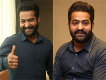 Jr NTR Interview Photos