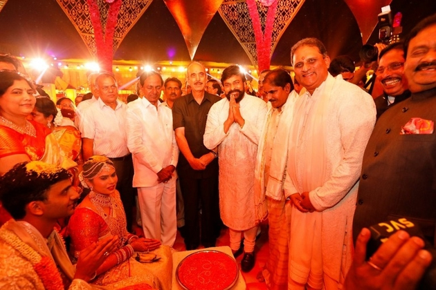 Celebs At NTV Director Daughter Rachana Marriage Photos