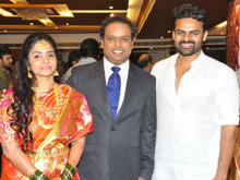 Comedian Harish Wedding Reception Photos
