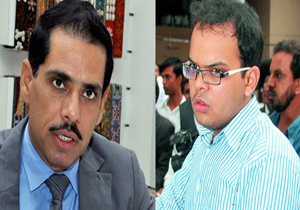 Conduct an investigation into allegations against Robert Vadra