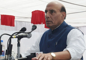 Constables deny guard of honour to Rajnath Singh