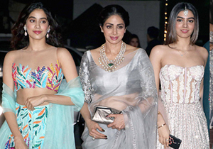 Jhanvi and Khushi Kapoor show off their Diwali festive style
