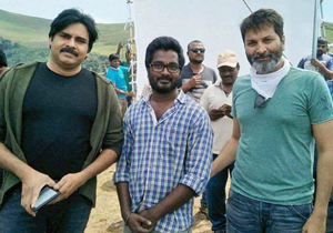 Pawan kalyan and Trivikram wrapped up Chikmagalur schedule