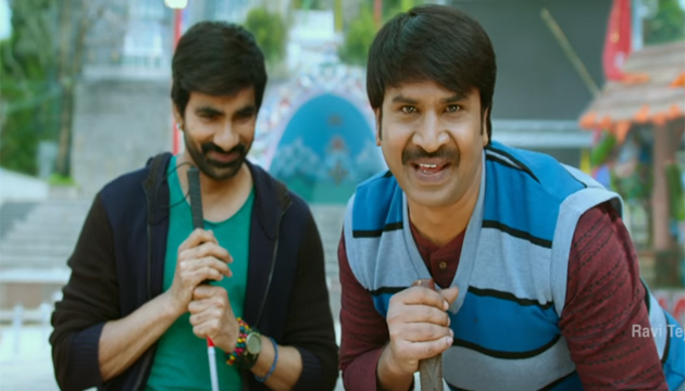 Srinivas Reddy Role in Ravi TEja Raja The Great Movie