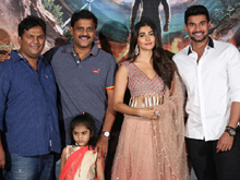 Sakshyam Movie Motion Poster Launch Photos