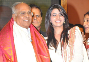 Samantha Received Compliments From Akkineni Nageswara Rao