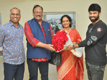 Krishnam Raju Family Watched it Raju Gari Gadhi 2 Movie Photos