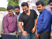 Sai Dharam Tej Launches Saptagiri LLB Movie Song