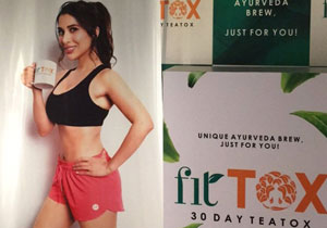 Sophie chaudhary Turns Entrepreneur, Launches Fitness Tea