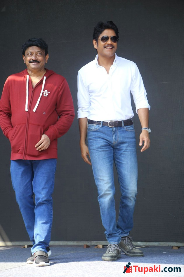 Nagarjuna And RGV Movie Launch photos