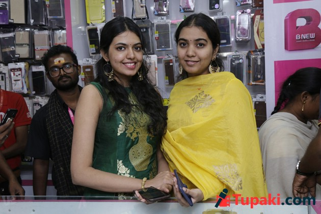 Rajasekhar and Jeevitha at B New Mobile Store Opening Photos