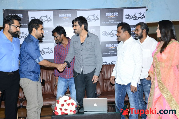 Ravi Teja Launches Indrasena Movie Song Photos