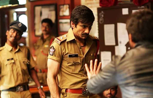 Raviteja In Police Officer Role in Touch Chesi Chudu Movie