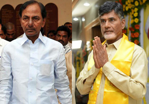 Chandrababu naidu and KCR on Ease of doing business Rankings