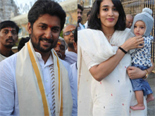 Nani Visits Tirumala Photos (PHOTOS)
