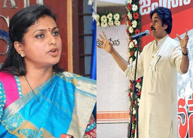 Is Roja ready to join Jana Sena ?