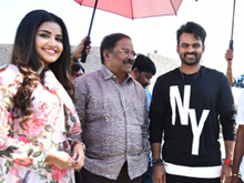 Sai Dharam Tej - Karunakaran Movie Photos