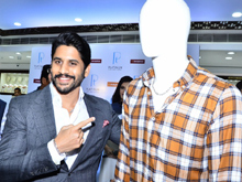 Naga chaitanya launches mens jewellerys at joyalukkas Photos