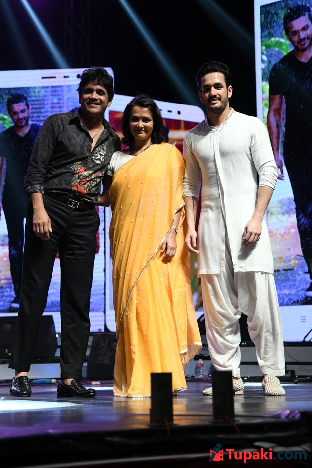 Akhil Hello Movie Audio Launch Photos