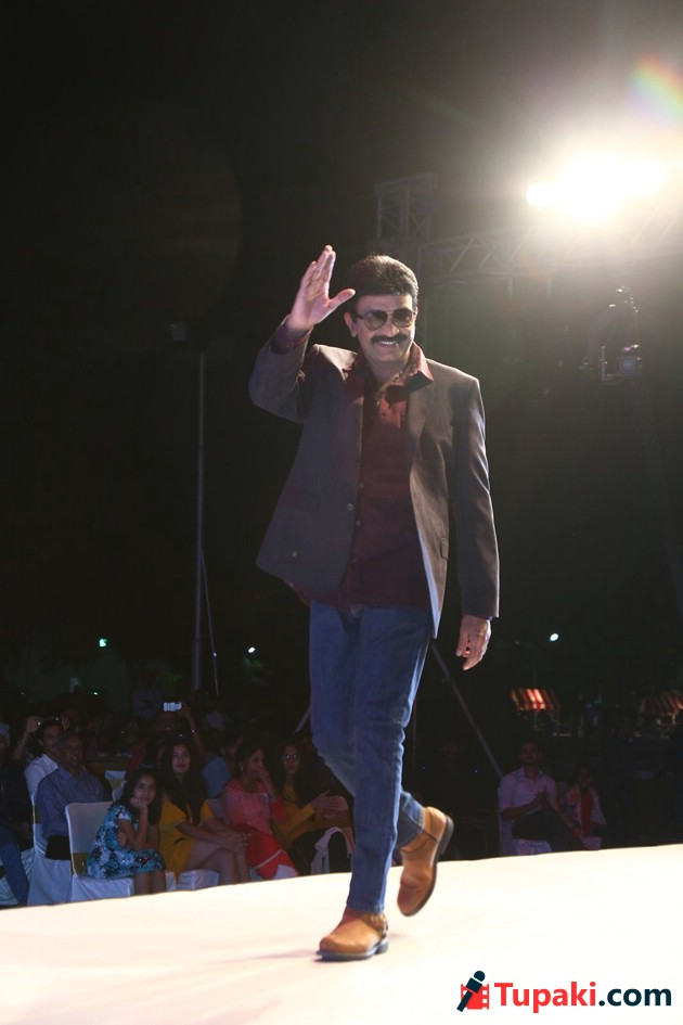 Dr Rajasekhar Walks the Ramp for Marks and Spencer Photos