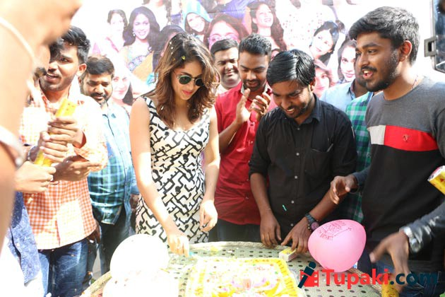 Lavanya Tripathi Birthday Celebrations With Her Fans Photos