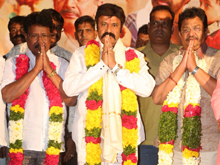 Brahmin Associations Felicatited Jai Simha Movie Team Photos