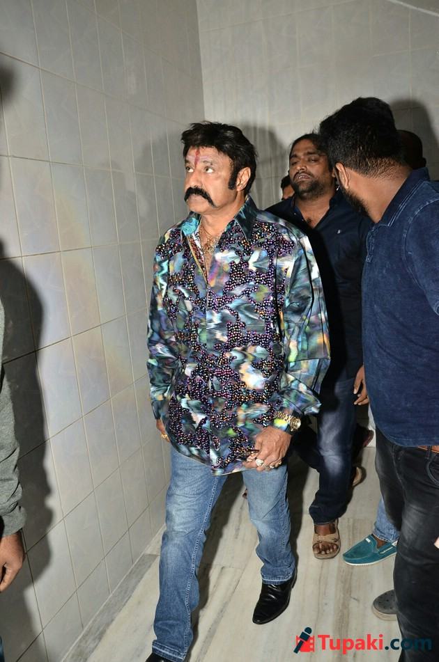 Jai Simha Theatre Coverage at Bramaramba Theatre Photos