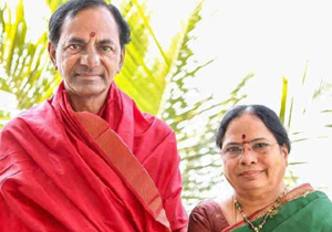 CM KCR Wife Admitted To Hospital