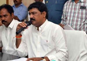 Ganta Srinivasa Rao Allegations on Jagan