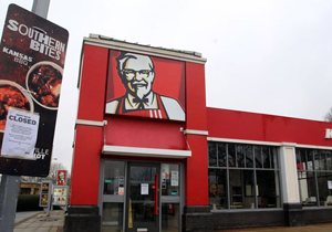 KFC stores hit with chicken shortage