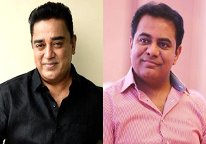 KTR Praises and Thanks to kamal haasan