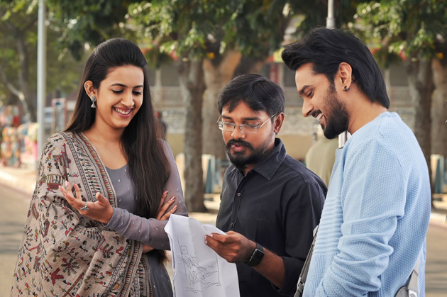 Niharika And Sumanth Ashwin Happy Wedding Movie First Look